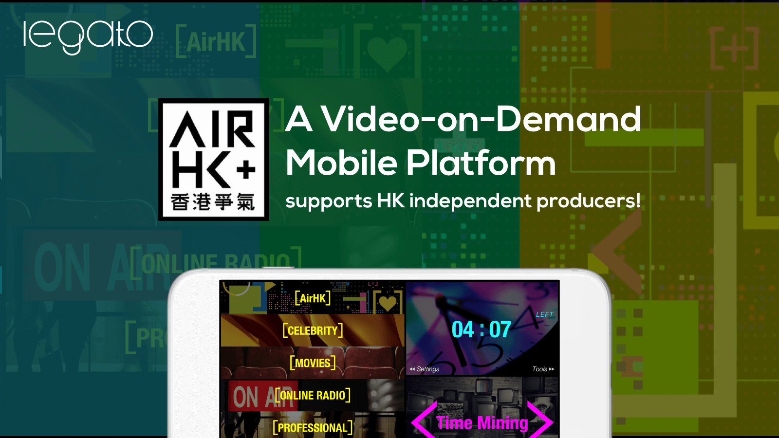 Air HK -- Video-on-Demand Mobile Platform