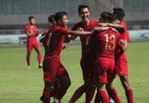 Foto Selebrasi pemain Timnas Indonesia U23
