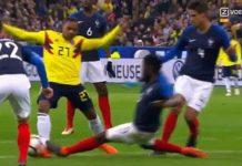 ฝรั่งเศส 2-3 โคลัมเบีย