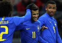 รัสเซีย 0-3 บราซิล