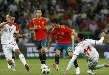 ตูนิเซีย 0-1 สเปน
