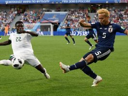 ญี่ปุ่น 2-2 เซเนกัล