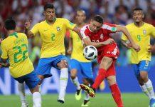 เซอร์เบีย 0-2 บราซิล