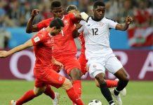 สวิตเซอร์แลนด์ 2-2 คอสตาริก้า