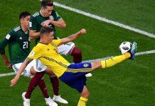 เม็กซิโก 0-3 สวีเดน