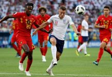 อังกฤษ 0-1 เบลเยี่ยม