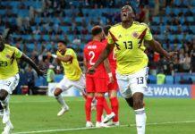 โคลอมเบีย 1-1 (3-4 PEN.) อังกฤษ