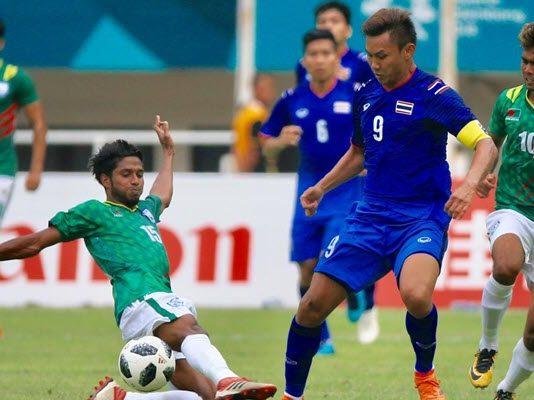ทีมชาติไทย 1-1 ทีมชาติบังคลาเทศ