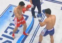 บันทึกการแข่งขันชกมวยไทย วันฉลอง พี.เค.แสนชัยฯ พบ เพชรภูซาง กีล่าสปอร์ต : พิกัด 118ปอนด์
