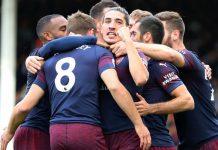 เทปบันทึกการแข่งขันฟุตบอล พรีเมียร์ลีก อังกฤษ ฤดูกาล 2018-2019 ฟูแล่ม 1-5 อาร์เซน่อล วันอาทิตย์ที่ 7 ตุลาคม 2561