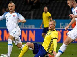 สวีเดน 1-1 สโลวาเกีย