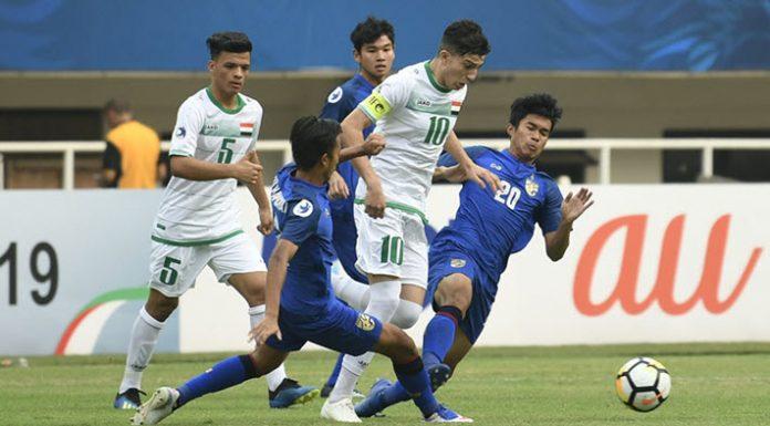 ทีมชาติไทย 3-3 อิรัก