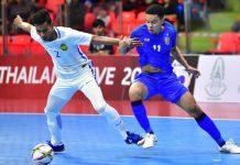 ทีมชาติไทย 7-1 มาเลเซีย