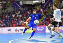 ทีมชาติไทย 6-3 อุซเบกิสถาน