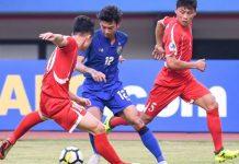 ทีมชาติไทย 2-1 เกาหลีเหนือ