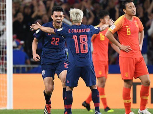 ทีมชาติไทย 1-2 จีน