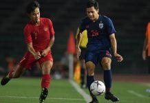 ทีมชาติไทย 1-2 อินโดนีเซีย