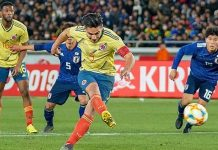 ญี่ปุ่น 0-1 โคลอมเบีย