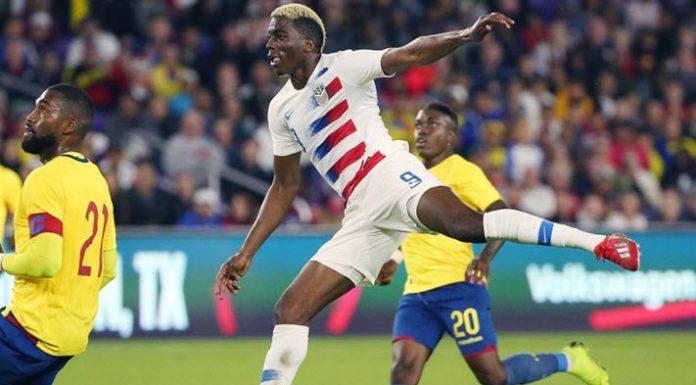 สหรัฐอเมริกา 1-0 เอกวาดอร์