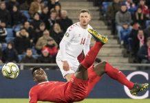 สวิตเซอร์แลนด์ 3-3 เดนมาร์ก