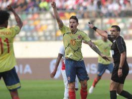 เปรู 0-3 โคลัมเบีย