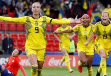 ชิลี 0-2 สวีเดน