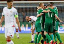 เบลารุส 0-1 ไอร์แลนด์เหนือ
