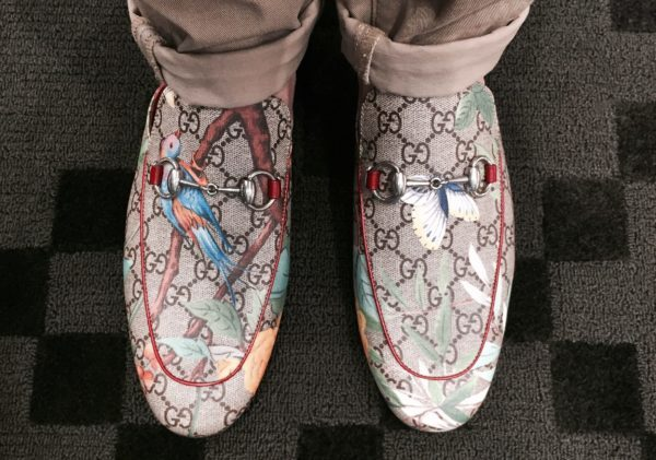 Gucci slippers, Fall/Winter 2016. Shopping list for this Singapore National Day long weekend