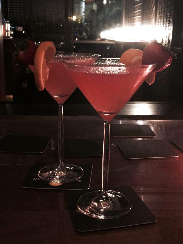 Cocktail o'clock – anytime, says Art Director Stephanie Lim