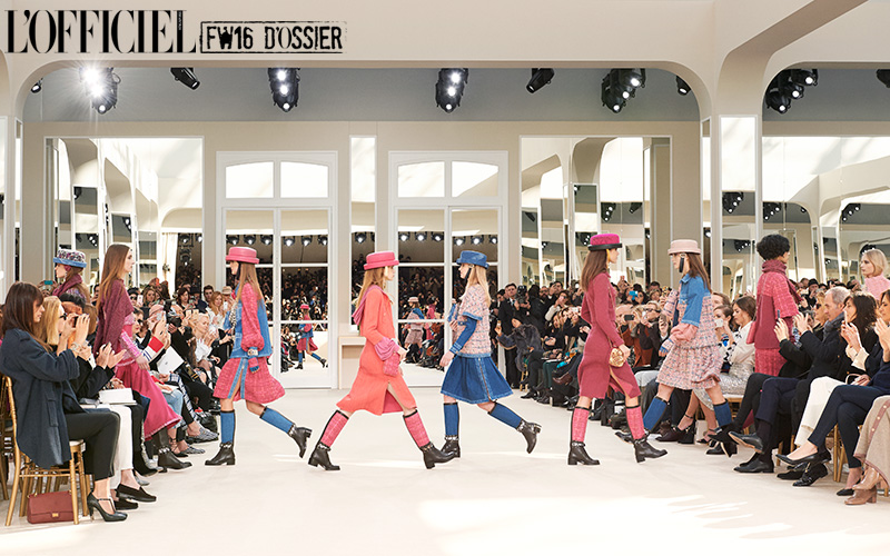 Chanel Fall/Winter 2016.