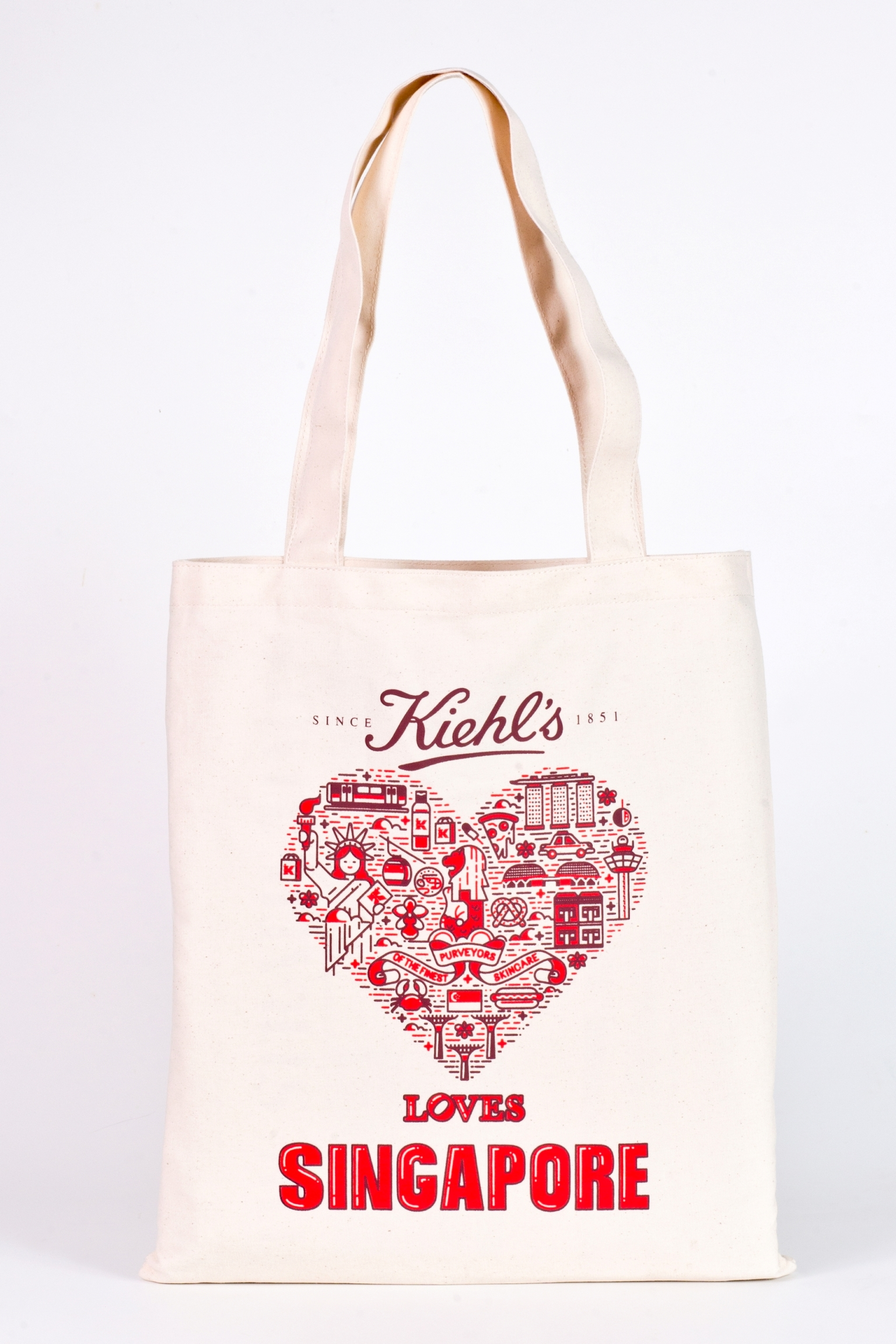 "Limited edition ""Kiehl's Loves Singapore"" tote bag"