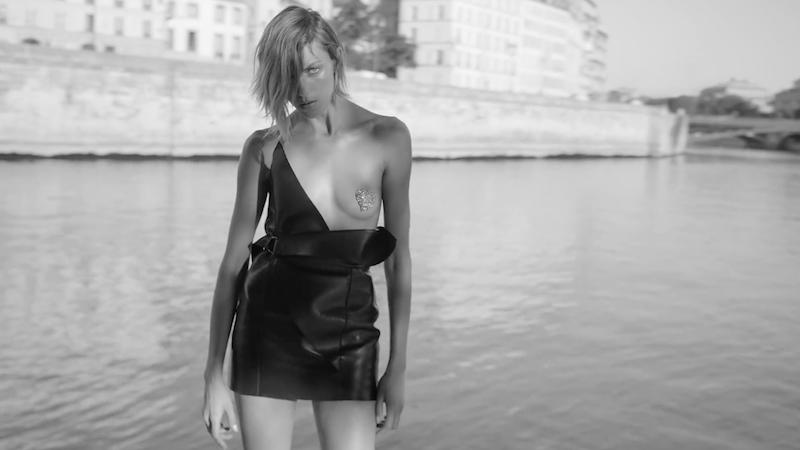 Saint Laurent starring Anja Rubik, by Inez and Vinoodh