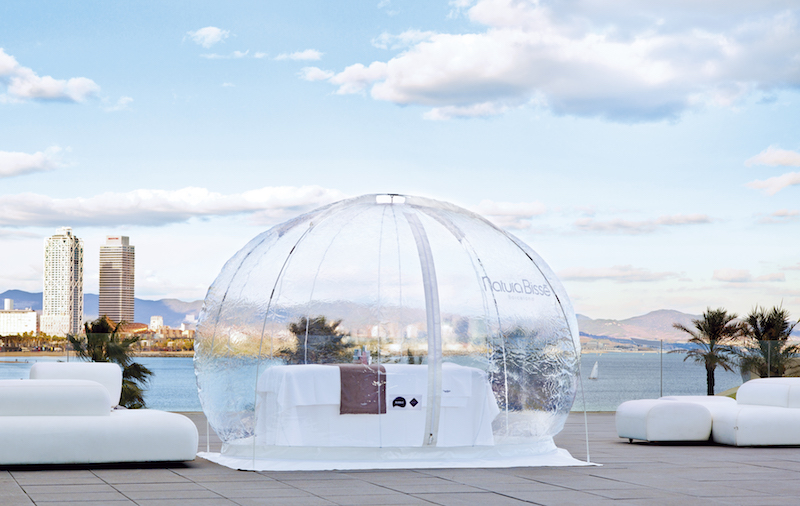 Adeva Spa's Natura Bissé Pure Air Bubble
