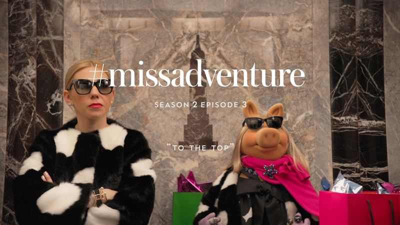 Kate Spade X Miss Piggy: Miss Adventure To The Top