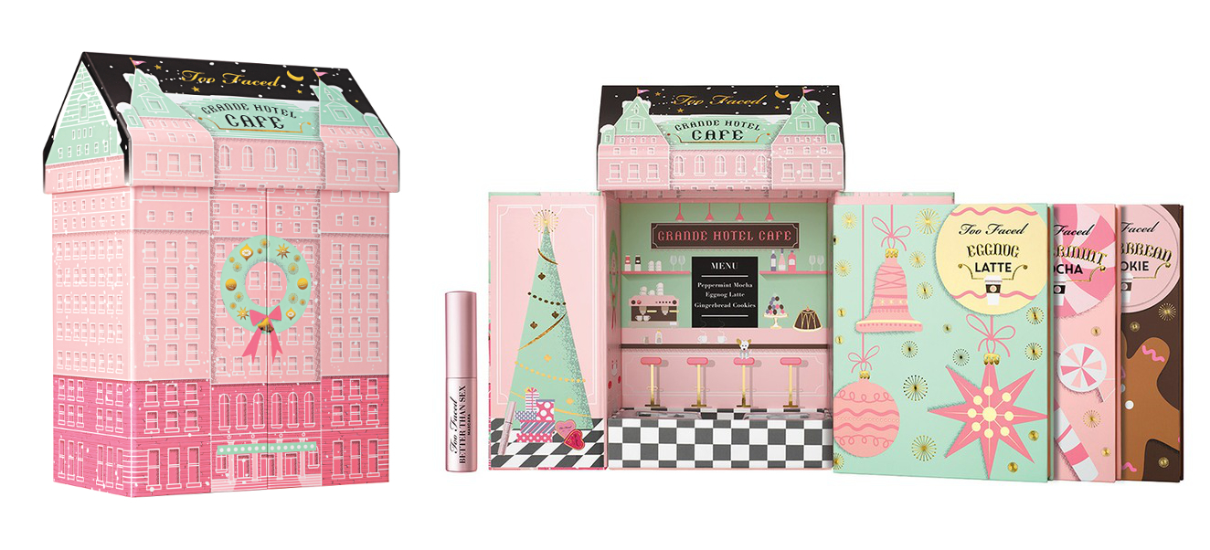 Too Faced Grand Hotel Cafe, $76 from Sephora