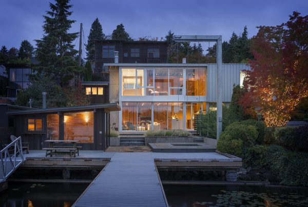"Portage Bay House is a true, bonafide ""lake house"" designed by Heliotrope Architects inspired by Seattle's maritime heritage."