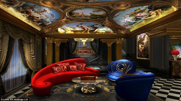 The villas of The 13 Hotel are conceptualised and decorated with by Hung and his artists.