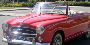 Classic Car: 1959 Peugeot 403 Convertible for Sale with French Auction House Ivoire Nimes