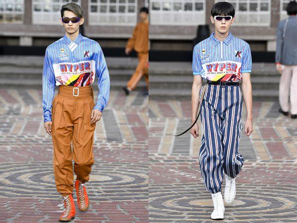 Kenzo menswear spring summer 2018