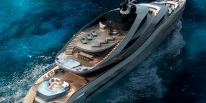 Superyacht concept Aurea by Pininfarina and Rossinavi Yachts