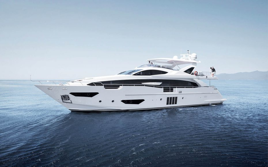The Azimut Grande 95 yacht conceptualised by Stefano Righini
