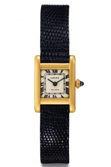 "The Jacqueline Kennedy Onassis Cartier Tank was gifted to the First Lady from brother-in-law Prince Stanislaw ""Stas"" Radziwill in on 23 February 1963"