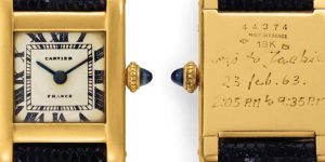 Christie's Auction of The Jacqueline Kennedy Onassis Cartier Tank Realizes $379,500. You'd never believe who bought it.