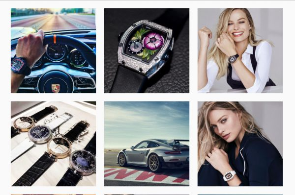 Thankfully, news of Margot Robbie's appointment as Richard Mille's Brand Ambassador managed to occupy some valuable instagram real estate for a short while.