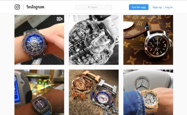 A cursory search of #Richardmille results in some Richard Mille watch posts but a majority of content from unrelated brands from users trying to game the system through popular hashtags. Richard Mille is tagged in over 700,000 posts