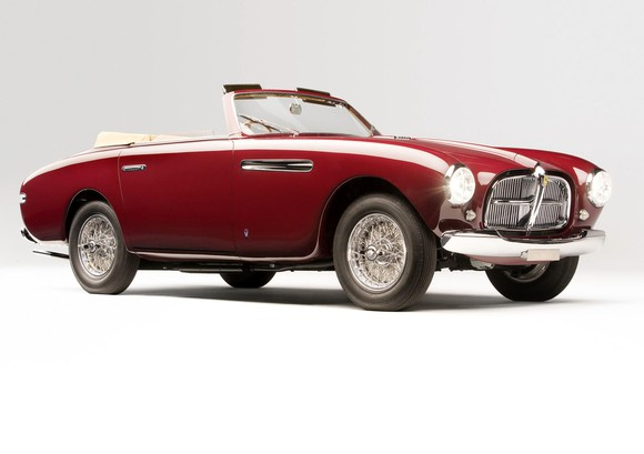 The 212 Inter Vignale cabriolet (1951) is admired for its sheer beauty and flair. Indeed it was awarded second place in the Ferrari Grand Touring class at Pebble Beach in 2014.