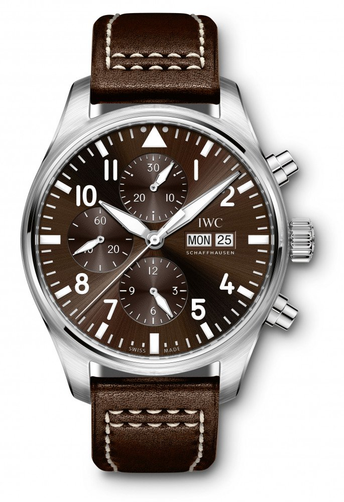 "new 43mm IWC Pilot's Watch Chronograph Edition ""Antoine de Saint Exupéry"" (Ref. IW377713)"