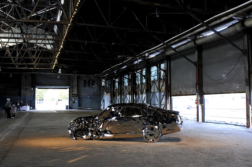 Philadelphia Contemporary curators chose Wreck to be exhibited at Pier 9, a 93-year-old warehouse extending onto the Delaware River
