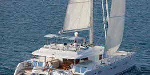 Week long stays onboard Simpson Yacht Charter's Lagoon 620 GB Odyssey