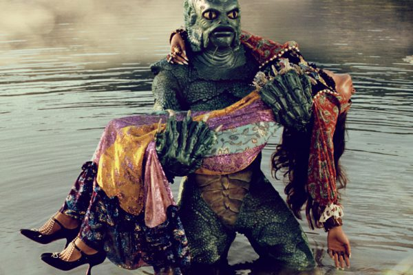 GucciandBeyond shows an other worldly fashion sensibility beyond race, culture and species. - Creature of the Black Lagoon courtesy of Universal Studios Licensing LLC